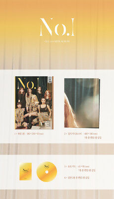 CLC [NO.1] 8th Mini Album CD+Photo Book+Mini Poster(On Pack)+Photo Card SEALED