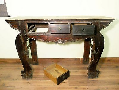 Antique Tall Temple Altar Table (5543), Phoebe Wood, Circa 1800-1949 2