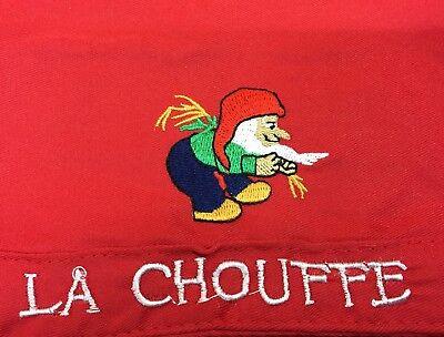 Bonnet tissu bière CHOUFFE logo brodé.