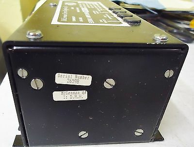 McLENNAN SERVO AMPLIFIER PM121-10T, SERIAL3 26598, MADE IN UK FOR QUAD 841C 3