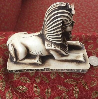 Unique Rare Vintage Egyptian Great Sphinx of Giza Replica Handmade in Egypt!!WOW