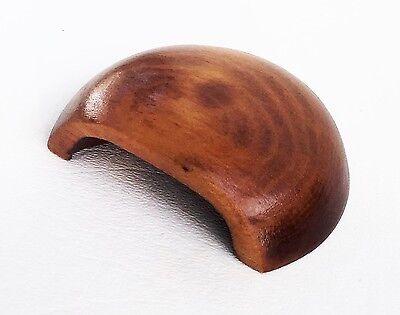 Cherry Antique Hardware Bin Pull Vintage Wood Art Deco Drawer Pull Knob Maple 3