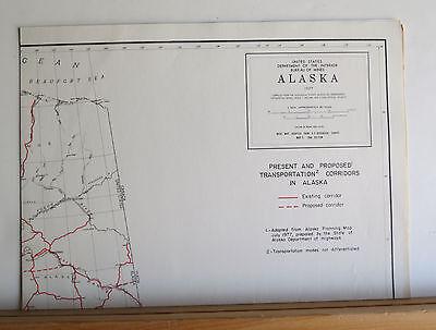 Alaska's Mineral Potential 1978 Oil Gas Geothermal Uranium Metals Coal 8 Maps 6