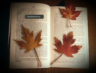 Genuine Canadian Maple Leaf Bookmark! 2