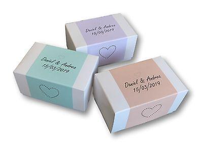 Astonishing 50 X P Pink Labels White Box Wedding Birthday Cake Boxes Funny Birthday Cards Online Inifofree Goldxyz