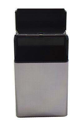 Cigarette Tobacco Cigar Case Holder Aluminum Pocket Box Container Pack SHORT NEW