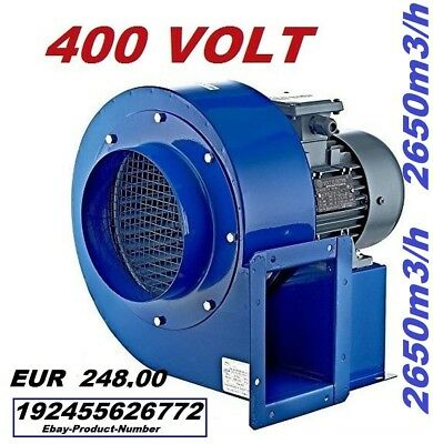 200M Industrial Centrifugal Blower Fan Fume, Smoke Extractor Ventilation 5