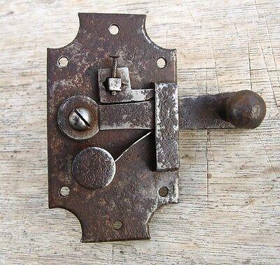 AntiqueFrenchDoor Latch, Handmade 3