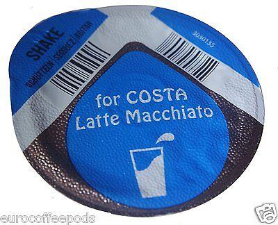 20 x Tassimo Costa Latte Macchiato Milk Creamer T-disc, Large cup size (New) 3
