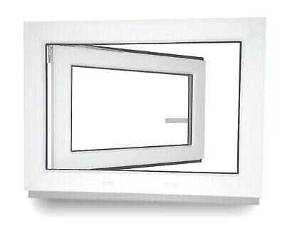 Kellerfenster Kunststoff Fenster 2 3 verglast Weiß Anthrazit Lager - ALLE GRÖßEN 7