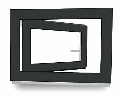 Kellerfenster Kunststoff Fenster 2 3 verglast Weiß Anthrazit Lager - ALLE GRÖßEN 4