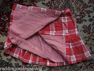 Room Seven girl's wrap around hand made skirt SIZE 116 (UK age 6 years) *LOVELY* 5