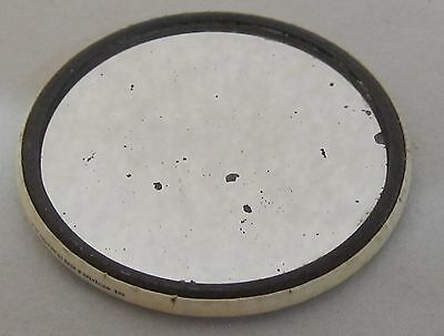 Celluloid Pocket Mirror * Early Watch Case Engravers Union W.c.e.i.a Of A