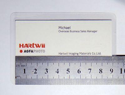 10xBC Size Self Seal Laminating Pouches Self Adhesive Cold Seal Laminating Sheet