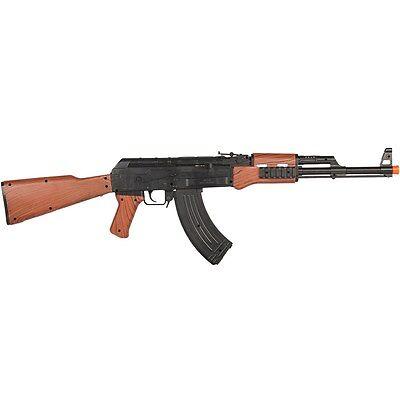 UKARMS AK-47 SPRING AIRSOFT RIFLE GUN w/ LASER SIGHT 6mm BB BBs