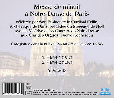CD Messe de minuit à Notre-Dame de Paris - Pierre Cochereau - Cardinal Feltin 2