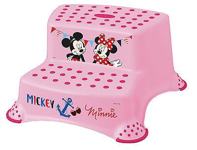 3er Z Set Disney Minni Maus rosa Töpfchen + WC Aufsatz + Hocker zweistufig