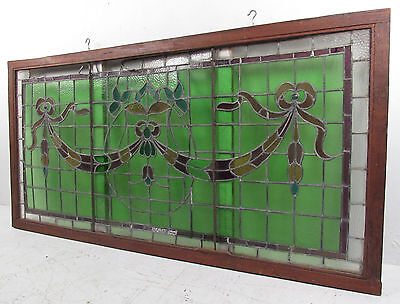 Large Vintage American Candy Store Stained Glass Window (2375)NJ 2