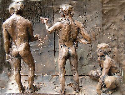 Cast of the Lamp of Grotte de la Mouthe 5