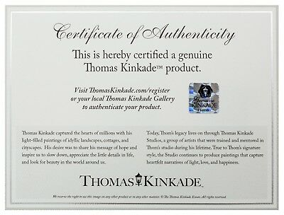 Thomas Kinkade Studios Disney 8 x 10 Gallery Wrapped Canvas (Choice of 6) 7