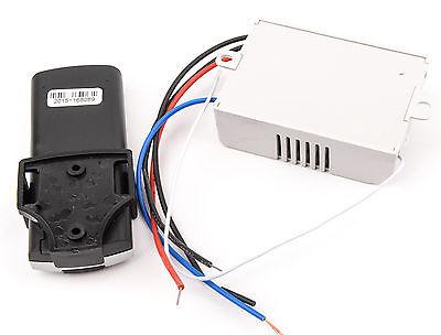 Interruptor Inalambrico Luces 2 Canales 220V  Mando A Distancia  Receptor 4522 2