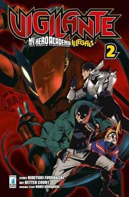 -15% Vigilante - My Hero Academia Illegals 1-2 + Omaggio - Edizioni Star Comics
