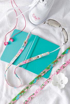 LILLY PULITZER Sunglasses Strap BIG FLIRT Floral Cotton Sunglass NEW