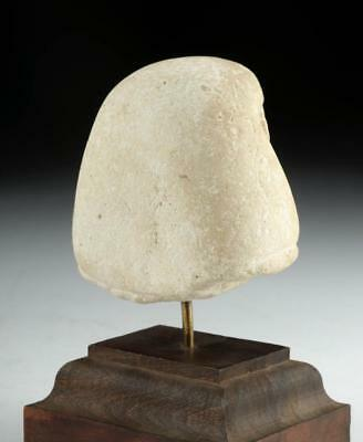 Egyptian Limestone Head of Official, Sculptor's Model Lot 8