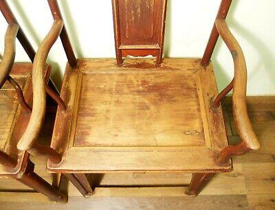 Antique Chinese Ming Arm Chairs (5730) (Pair), Circa 1800-1849 8