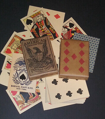 Faro Playing Cards of the Old West & Civil War Faro - Pharo - Poker 3