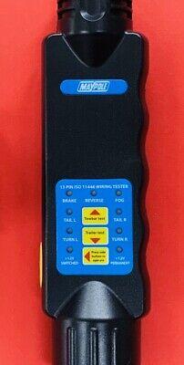 MAYPOLE 12V 13 Pin Euro Tester & 7 Pin Tester Car Van Towbar & Trailer Wiring 3