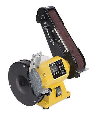 Free 21 Belts 150Mm Bench Grinder Linisher Sanding Grinding Wheel Belt Sander 3
