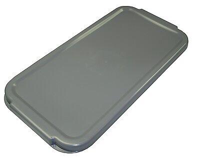 LEWI Eimer 22 Liter Grau Rechteckeimer für Glasreinigung passend für Unger Ninja 4