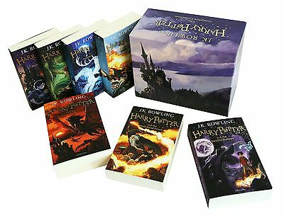 The Complete Harry Potter 7 Books Collection Boxed Gift Set NEW J. K. Rowling 5