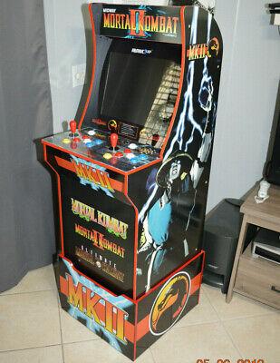 Arcade1up Cabinet Riser Graphics - Mortal Kombat 2 II Graphic Sticker Decal Set 9