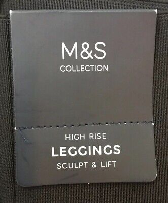 Marks and Spencer Collection Sculpt & Lift Leggings BNWT Sz 8 BNWT RRP £19.50 3