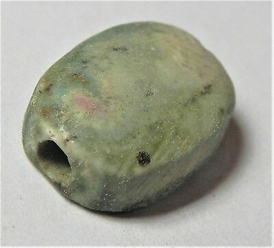 Zurqieh -Af1896- Ancient Egypt ,  New Kingdom . Steatite Scarab. 1400  B.c 3