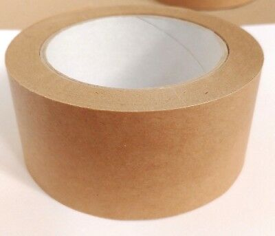 Brown Self Adhesive Backing Tape Picture Framing Canvas Craft Kraft 50mm x 50M 2