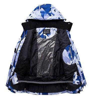 Completo Neve Tuta Sci Donna Giubbotto Set 2 pz Windproof Ski Suit Set CMSW10 P 5