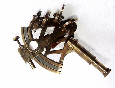 Solid Brass Marine Sextant Germany Design Collectible Astrolabe Sextant Decor 2