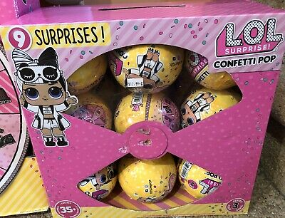 Lol Surprise Confetti Pop Series 3 Wave 2 Brand New Factory