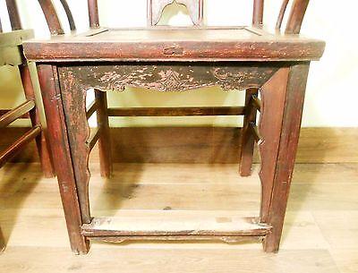 Antique Chinese High Back Chairs (Pair) (5742), Circa 1800-1849 9