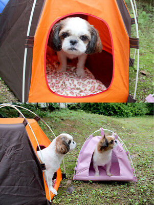 Portable Pet Tent Puppy Dog Pet Cat Outdoor Camping Sun Shelter Waterproof House 4