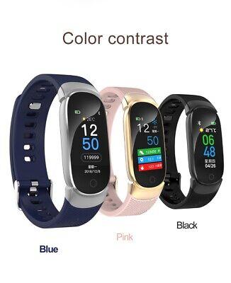 Waterproof Smart Bracelet IP67 Heart Rate Blood Pressure Fitness Tracker Watch 11