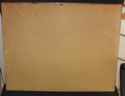 Gravure - Reichmann - Campagne lacustre - 44x35 cm - encadrement ronce de noyer 5