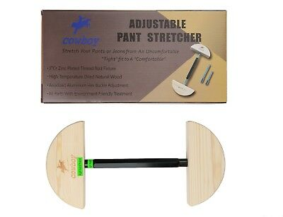 """Pant Stretcher for Jeans with Aerial Aluminium Alloy Buckle Stretch 30"""" to 59"""" 9"""