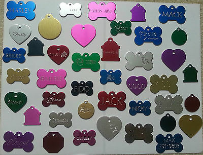 Custom Engraved Personalized Pet Tag Id Dog Cat Name Tags Double Side 3