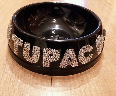 dog bowl,cat bowl, pet bowl, personalised bowl, small size, various colours 8