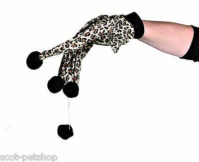 New Kitten Cat Glove Teaser Play Toy For Cats Kittens 3