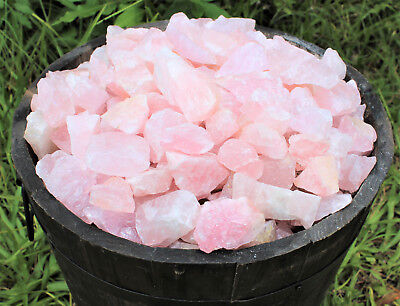 1/4 lb Bulk Lot Natural Rough Rose Quartz Crystals (Raw Reiki Love Healing 4 oz) 6